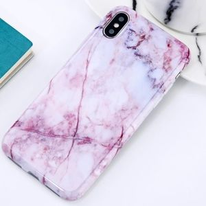 Accessories - LAST 1! NEW iPhone 6+/6s+ Pink Marble Soft Case